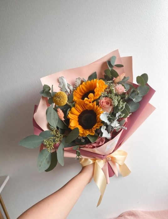 sunflower-bespoke-bouquet