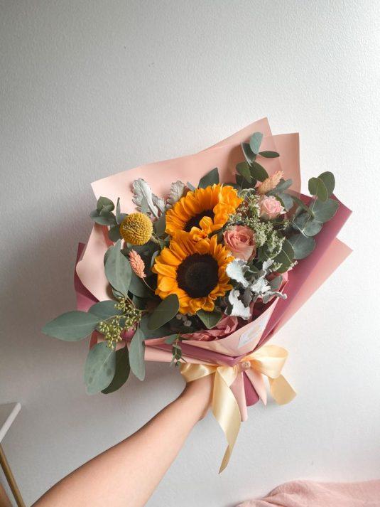 sunflower-bespoke-bouquet